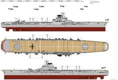 Taiho-class Aircraft Carrier (1944) by ijnfleetadmiral.deviantart.com on @DeviantArt