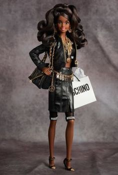 Moschino Barbie® Doll – African American | The Barbie Collection