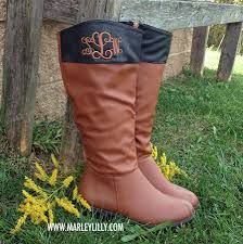 monogram riding boots - Google Search