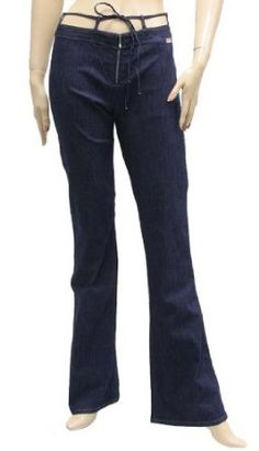 Miss Sixty Womens Jeans Pants Dark Blue Cotton, 46, Blue Miss Sixty. $39.99