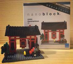 ⛩ 為了彌補沒看到雷門的遺憾 所以我買了迷你雷門回來  #nanoblock #日本 #雷門