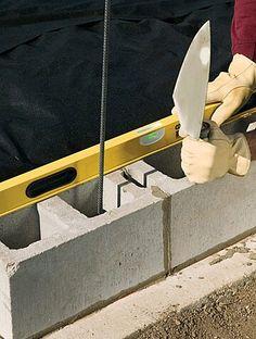 How to Build a Concrete Retaining Wall – Zaun