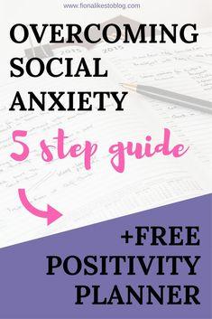 Overcoming social anxiety is something you are going to need tips on. Recovery isn't as quick and easy as I would've hoped. Here's some inspiration