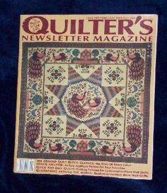 Quilter�s Quilters Newsletter Magazine #229 1991 January