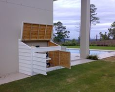 Pool Filter Enclosure Ideas painting of hide pool equipment with options of enclosures to create a neat and clean landscape Gallery Of Photos From Australian Timber Pool Filter Covers Queensland New South Wales