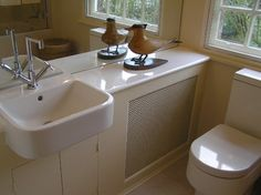 en-suite bathroom - traditional - Bathroom - London - Celia James