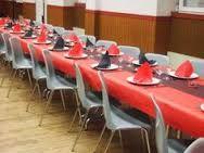 """Résultat de recherche d'images pour """"déco table rouge et noir"""""""