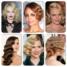 It's time to embrace your inner flapper girl and rewind to the twenties. Thanks to the Great Gatsby, retro hairstyles are back and bigger than ever. From fabulous finger waves and pretty pin curls to the elegant and glamorous faux bob.