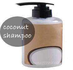 Natural Coconut Milk Shampoo DIY