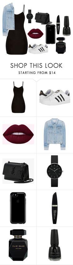 """3"" by leylaleyla270405 on Polyvore featuring мода, adidas, rag & bone, Yves Saint Laurent, Newgate, Speck, Max Factor, Elie Saab и China Glaze"