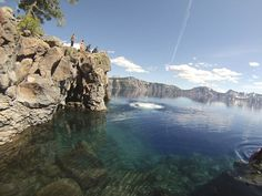 Crater Lake--South Central Oregon --Palms to Pines