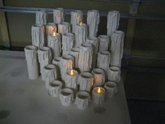 pvc candle tutorial
