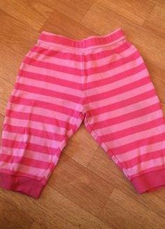 Kaufe meinen Artikel bei #Mamikreisel http://www.mamikreisel.de/kleidung-fur-madchen/hosen-hosen/18470655-susse-hose-in-rosa-dunkelrosa-gestreift