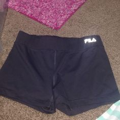 fila grey spandex shorts great for workouts, very comfortable. wore for gymnastics once, great condition. offers accepted! Fila Shorts