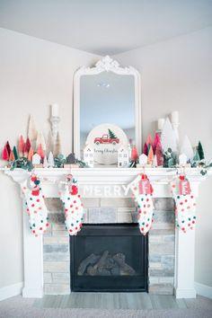 pink kitchen decorating ideas.htm 16 best christmas mantel decoration ideas images christmas  christmas mantel decoration ideas