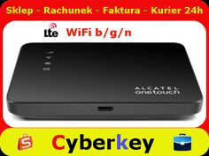 Router 4G LTE ONETOUCH LINK CZARNY Alcatel