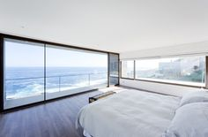 Gorgeous Minimalist Home Overlooking the Ocean in Chile
