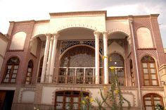 Front Elevation of historic Heyderzadeh house - Tabriz, East Azerbaijan.  Picture by Nasser Alikhani