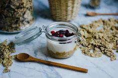 Yogur con galleta y frutos rojos fácil : via La Chimenea de las Hadas
