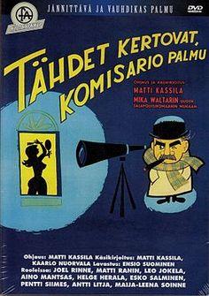 """tÄHDET KERTOVAT, kOMISARIO pALMU (""""The Stars Will Tell, Inspector Palmu""""), 1962."""