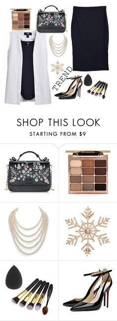 """""""How to wear office style"""" by huyentrangle238 on Polyvore featuring Stila, DaVonna and John Lewis"""