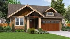 Nice craftsman look with good floor plan. Open concept living/dining/kitchen