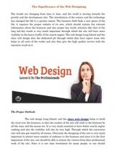 The web design Long Island, and the eface web design helps to build the trust over the business, so that the readers of the site will stick to the business by all the ways and the means too. It is very much essential to have better search engine ranking and also the visibility will also be very high. Through which the conversion rate will also get raised by all means.