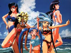 Anime harém com humor leve! Anime Sexy, Old Anime, Manga Anime, Anime Comics, Tenchi Universe, Akira Anime, Anime Stars, Graphic Novel Art, Good Anime Series