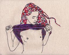 Así son las geniales ilustraciones bordadas por la artista Meghan Willis, quien no ha parado de bordar desde que aprendió con tan solo 6 años haciéndole trajes a sus barbies.