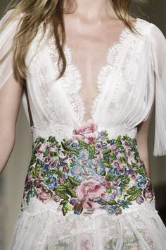 Details, Marchesa LFW SS15' | via Now Fashion