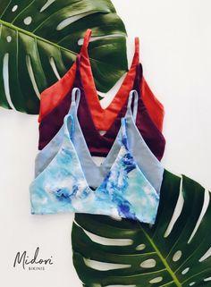Midori Bikinis introduces the new Rowan top- Supportive and comfortable, nothing says hassle-free like this bikini top.