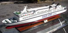 GTS Finnjet wooden model ferry - wooden ship Ms Estonia, Cruise Ship Models, Bottom Paint, Color Magic, Wooden Ship, Outdoor Swimming Pool, Water Quality, Speed Boats, Shipwreck
