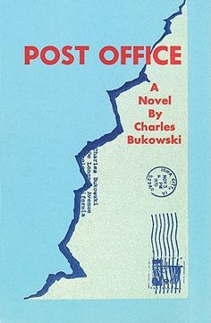 Post Office by Charles Bukowski    Is the first-person account of Henry Chinaski, a hard-drinking gambler and womanizer who goes to work for the United States Postal Service in Los Angeles. The story follows his experiences at the post office, weaving them together with his accounts of romantic affairs, sexual encounters, drinking, and gambling. His life is full of encounters with various unsavory and tragic characters