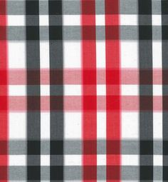 Fabric is 100% Cotton in Plain weave, yarn dyed check.
