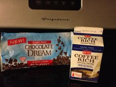 These two products make a wonderful, dairy & gluten free, chocolate ganache!