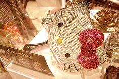 Hello Kitty glitter mirror
