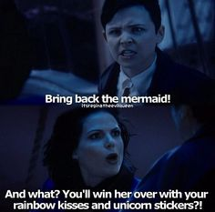Mary Margaret and Regina--oh this part cracked me up so much!