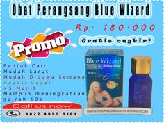 promo blue wizard