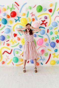 Balloon Wall Photobooth | Oh Happy Day!