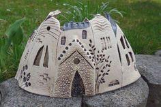 Keramik - Städtchen neue Form - ein Designerstück von connimeyer bei DaWanda