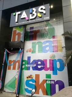 TABS - The Academy & Beauty Salon at S.V. ROAD, NEAR KHAR MASJID, OLD KHAR (W), MUMBAI. ‪#‎grand‬ ‪#‎opening‬ ‪#‎tabs‬ ‪#‎salon‬ ‪#‎khar‬ ‪#‎academy‬ ‪#‎beauty‬ ‪#‎makeup‬ ‪#‎hair‬ ‪#‎nails‬ ‪#‎skin‬ ‪#‎experts‬ ‪#‎courses‬ ‪#‎WallGraphics‬ ‪#‎YAworks‬