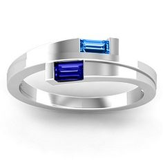 pretty modern mother's ring
