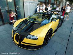 Olyan autó parkolt Budapesten, amiből az egész világon egy darab van Bugatti Veyron, Budapest, Vehicles, Car, Sports, Facebook, Automobile, Hs Sports, Sport