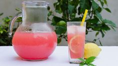 Limonada cu pepene rosu - JamilaCuisine Watermelon Lemonade, Good Food, Yummy Food, Limoncello, Hurricane Glass, Baby Food Recipes, Holiday Recipes, Smoothies, Healthy Lifestyle