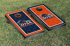 Texas San Antonio Roadrunners Cornhole Game Set Border Version 2 >>> More info could be found at the image url.