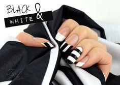 ZigiZtyle: Inspiration Nails - Black & White Shoes