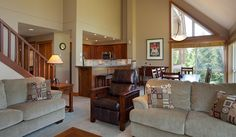 Open Concept Living Room Area