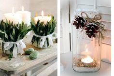 decoracion mesas navidad sofisticadas - Buscar con Google
