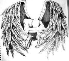 Fallen Angel by crossfade528.deviantart.com on @deviantART