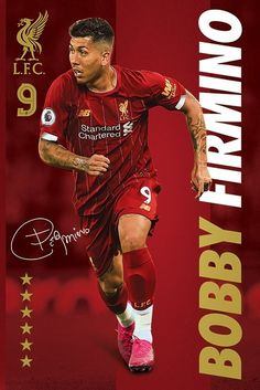 This Liverpool Firmino Poster is available for immediate despatch from our UK warehouse. A wide range of framing options is also available. Liverpool Fc Wallpaper, Liverpool Wallpapers, Lfc Wallpaper, Liverpool Uk, Liverpool Football Club, Liverpool Players, Gerrard Liverpool, This Is Anfield, Red Day